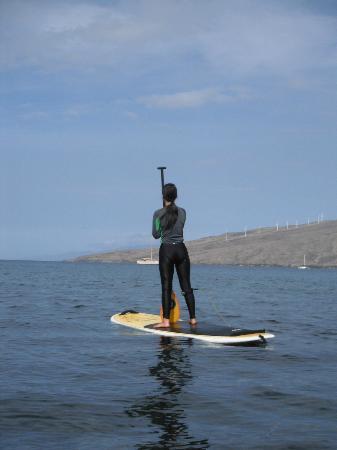 Paia, HI: Looking out to sea, Kihei, Maui