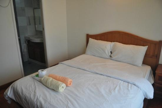 Century Suria Serviced Apartments: The master bedroom.