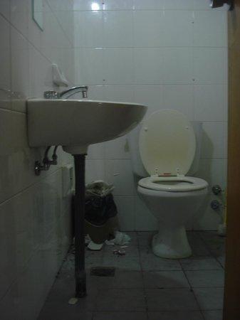 Quintana Hotel: Baño uso común