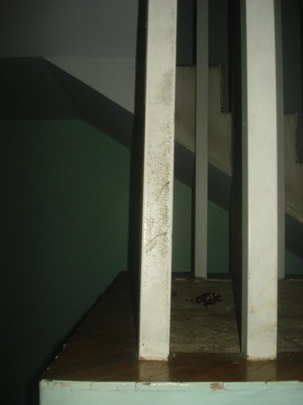 Quintana Hotel: Baranda escalera