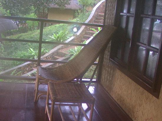 Balinsasayaw Resort : veranda