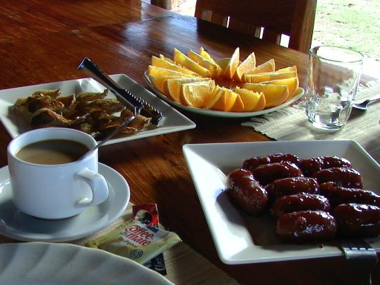 Balinsasayaw Resort: breakfast