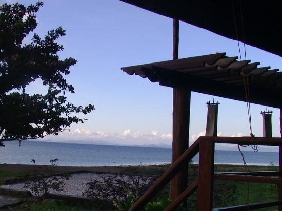 Balinsasayaw Resort: view from restaurant