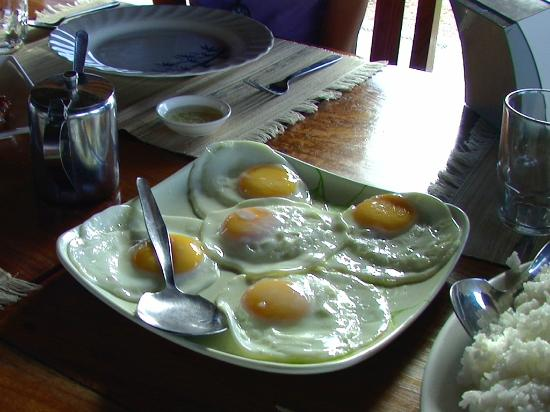 Balinsasayaw Resort: breakfast for 5