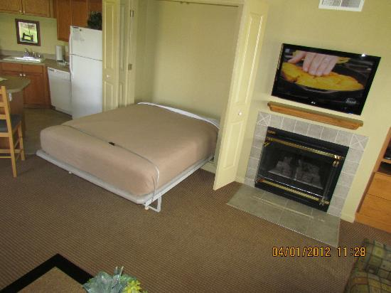 WorldMark Angels Camp: Pullout bed