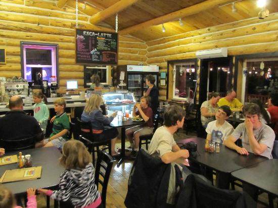 Escalante Outfitters, Inc -- The Bunkhouse: Restaurant Area, patio area not shown