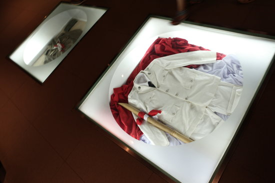 Museum Bank Indonesia : Uniforms from old soldiers