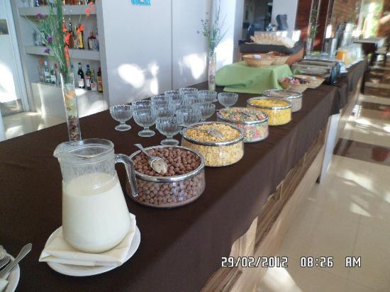 Gran Hotel Tourbillon: desayuno