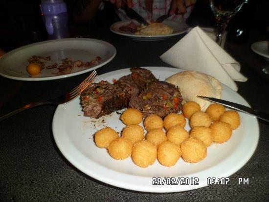 Gran Hotel Tourbillon: la cena!