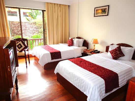 Angkor Way Boutique Hotel: Deluxe room- Twin beds