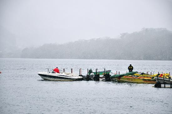 Hakone Komagatake Ropeway: the boat
