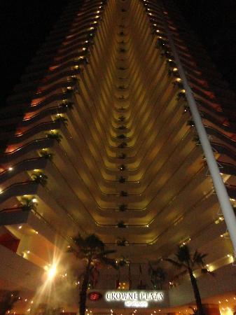 Gran Plaza Hotel Acapulco: Espectacular vista nocturna
