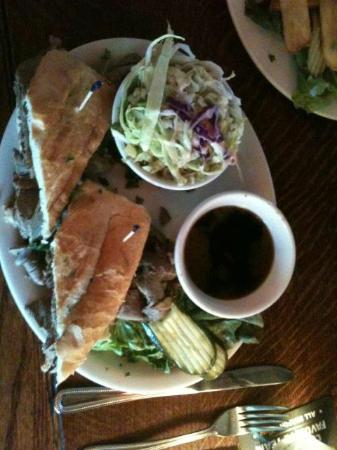 Patterson's Pub: French Dip - Around $10 - Really Good