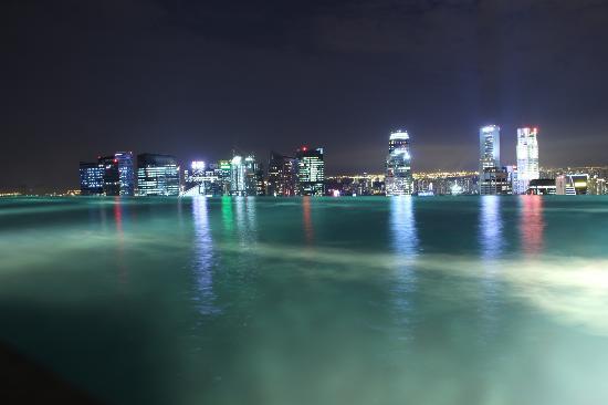 Marina Bay Sands Rooftop Pool
