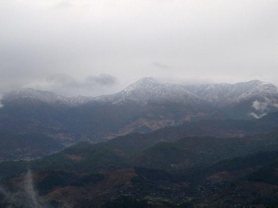 Himalayan Anchor: Snowfall on Dunagiri range