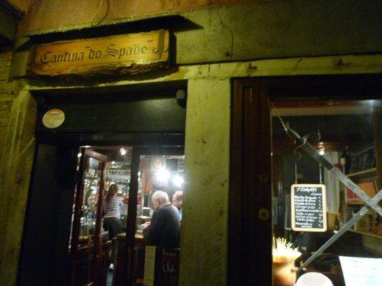 Cantina Do Spade: 店の入口