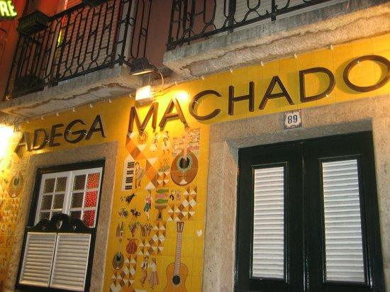 Adega Machado : ADEGA DO MACHADO: ENTRATA