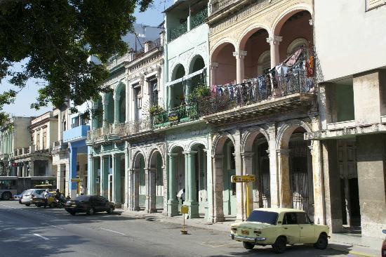 Casa Maura Habana Vieja: les rues avoisinantes