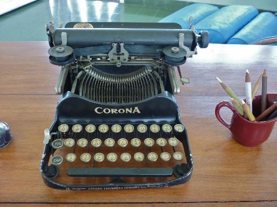 Casa Maura Habana Vieja: la machine à écrire d'ERNEST HEMINGWAY