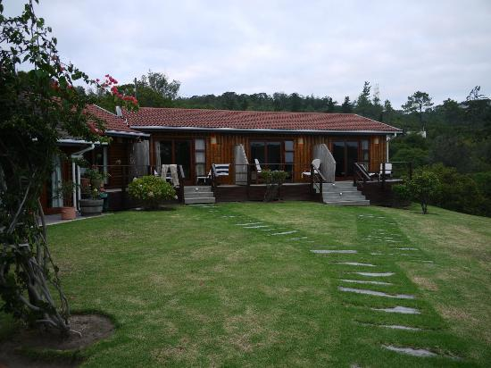 The other chalets which form part of Piesang Valley Lodge