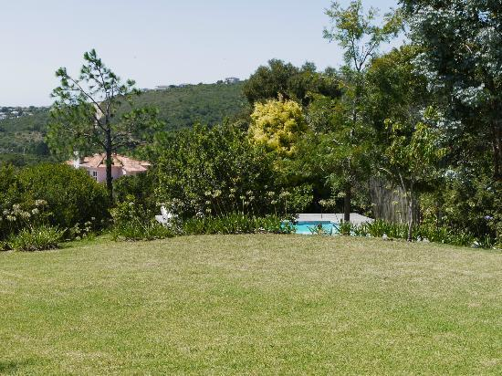 Piesang Valley Lodge: Accomodation grounds and pool area