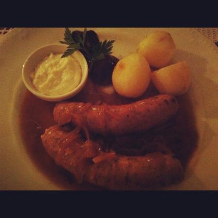 Polska Rozana: white sausages