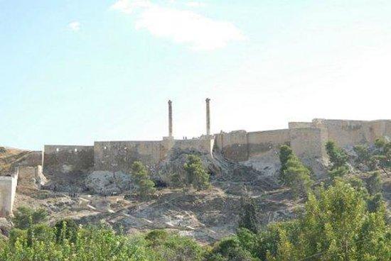 Sanliurfa, Turkey: Urfa Castle from Balikli Gol