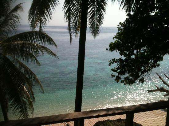 Freddies Santai Sumurtiga: View in the morning from Bungalow 4