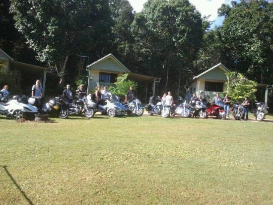 Malanda Falls Caravan Park: Motorcycle friendly