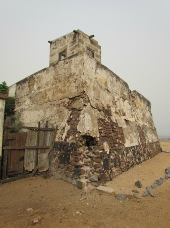Volta Region, Γκάνα: Fort Prinzenstein - Side of The Castle