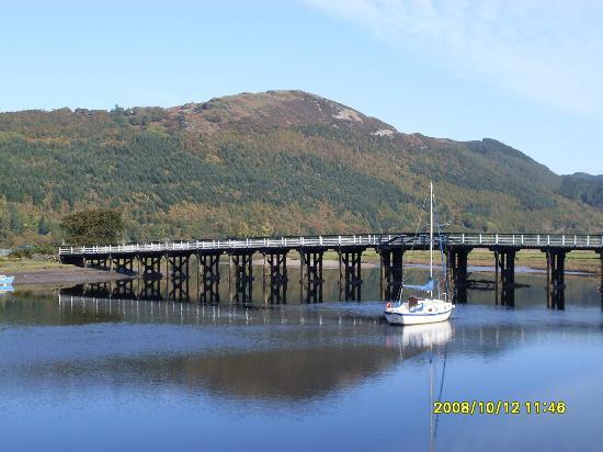 George III Hotel Restaurant: Mawddach estuary in October (from George)