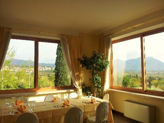 Hotel Porta Del Sole: Frühstückssaal