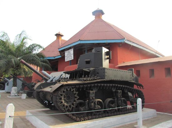 Kumasi Fort - Ghana Armed Forces Museum