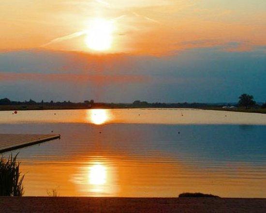Dorney, UK: View from the start