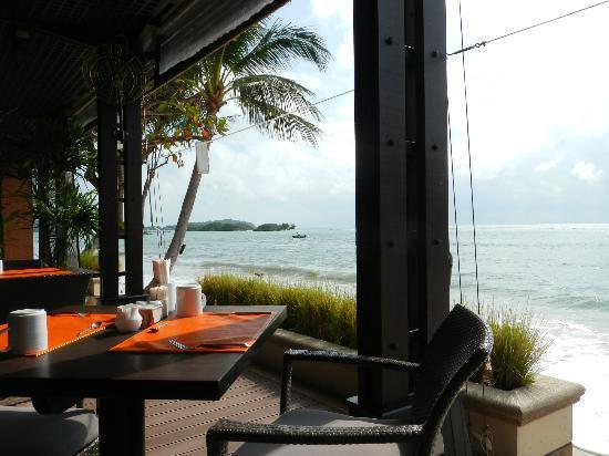 Chaweng Regent Beach Resort: Udsigt fra morgenmads restaurant