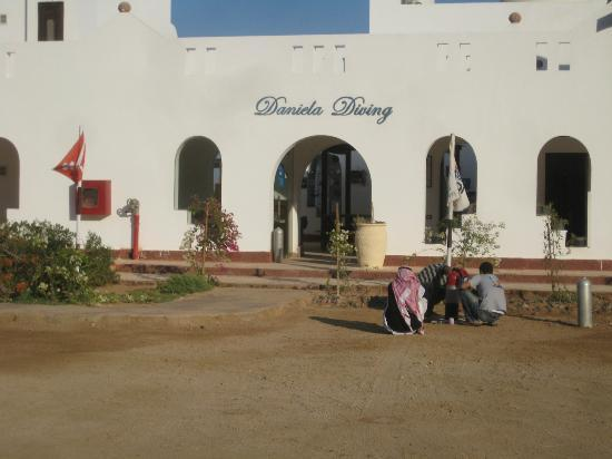 Daniela Village Dahab: Dive center entrance