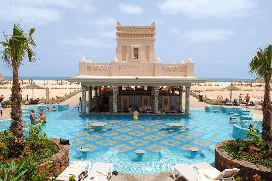 Hotel Riu Touareg : pool bar