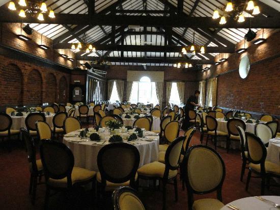 Finish Of The 15th Regis Classic Tour At Adlington Hall