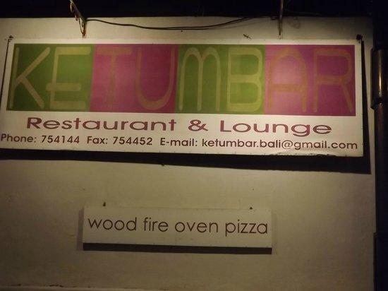 Ketumbar Restaurant & Lounge: Ketumbar FANTASTIC 2011