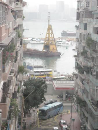 Comfort Hostel HK: View from the room