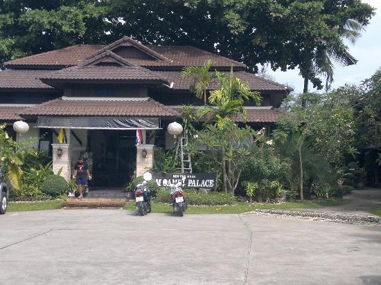 Am Samui Palace: Hotel entrance