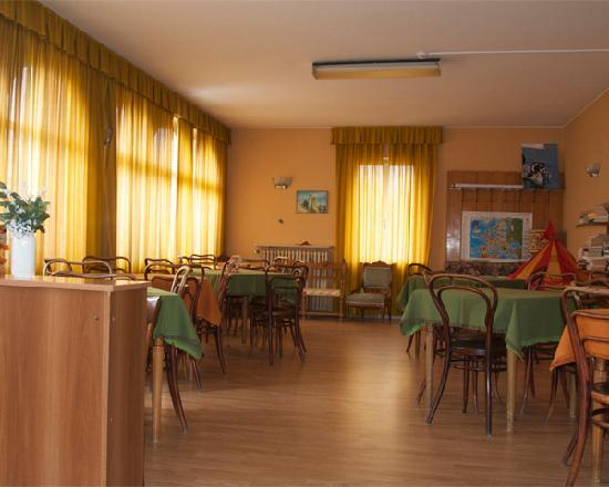 Hotel Monte Baldo: La sala al primo piano è ottima per rilassarsi navigando in wifi