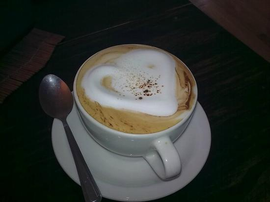 Grand Cafe Robertson: Cappuccino made with love!