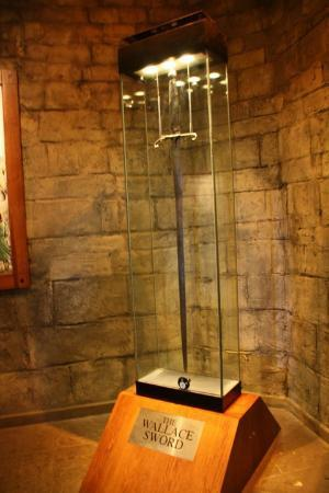 National Wallace Monument: Espada de William Wallace