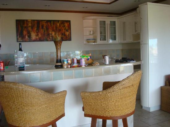 Constanza Boutique Resort: The bar in the Penthouse