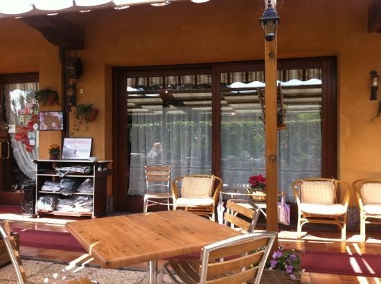 Tipamasaro : terrazza esterna