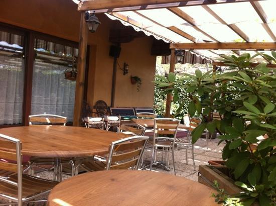 Tipamasaro: terrazza esterna