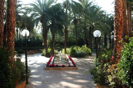 Jardín Milenio: inner courtyard