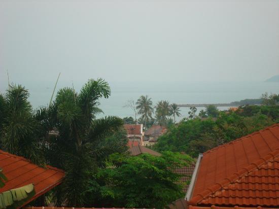 Constanza Boutique Resort: View overlooking Chaweng beach