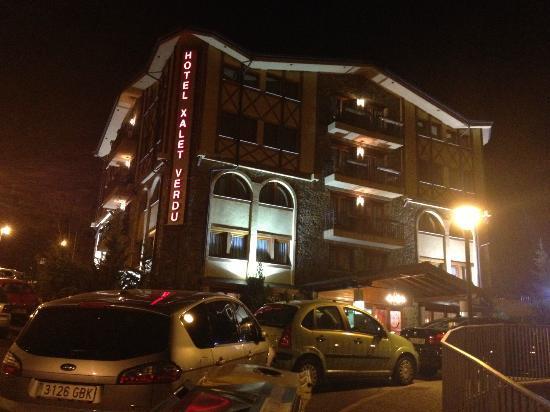 Xalet Verdu Hotel : Vistas nocturnas